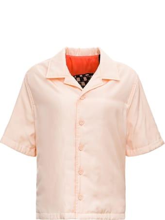 Bottega Veneta Padded Shirt With Back Print