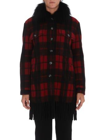 Ava Adore Fringed Jacket Coat