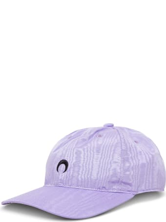 Marine Serre Lilac Moon Hat In Recycled Fabric