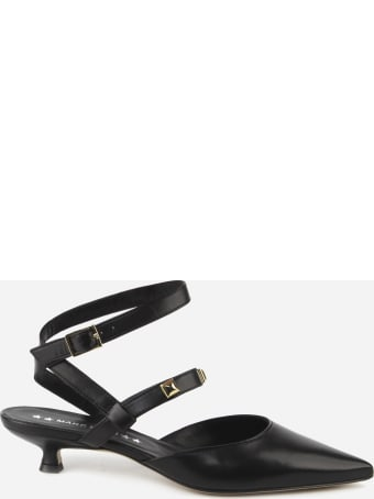 Marc Ellis Aria Slingback In Leather With Studs