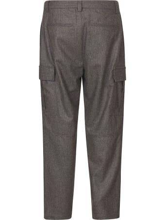 Brunello Cucinelli Straight Leg Cargo Trousers