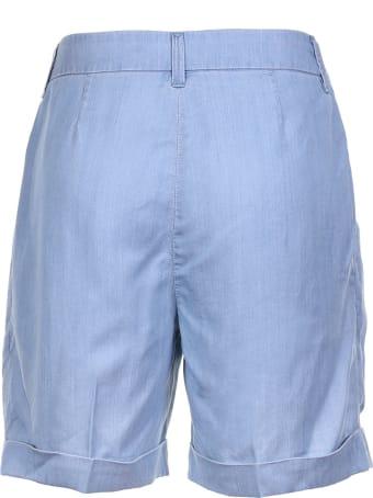Re-HasH Bermuda Shorts Blue
