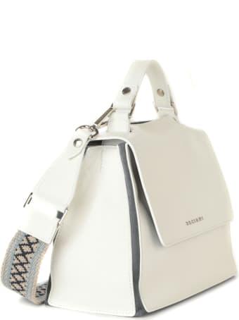 Orciani Sveva Warm Small Leather Handbag
