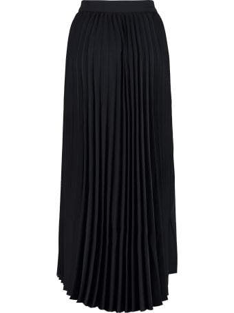 Maison Labiche Pleated Midi Skirt