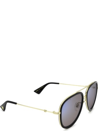 Gucci Gucci Gg0062s Gold Sunglasses