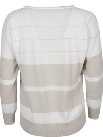 Fabiana Filippi Ribbed Stripe Sweatshirt