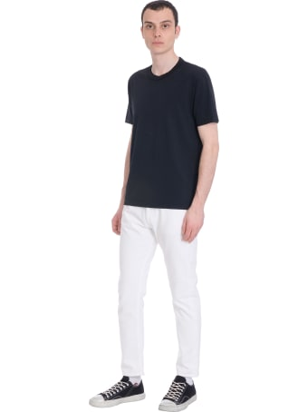 Mauro Grifoni Jeans In White Denim