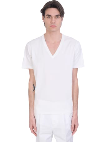Mauro Grifoni T-shirt In White Cotton