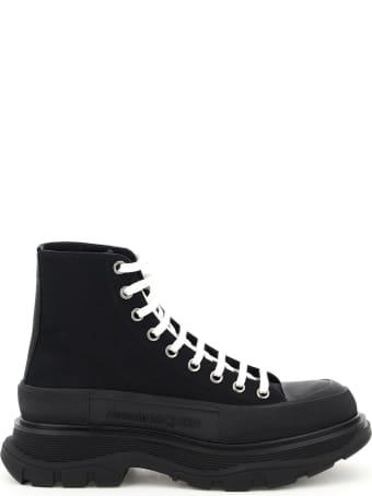 Alexander McQueen Tread Sleek Boots