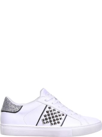 Crime london Sneaker In White Leather