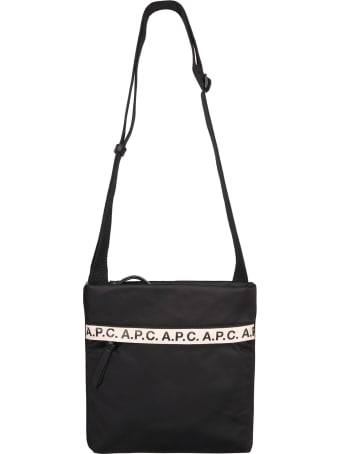 A.P.C. Shoulder Bag With Logo
