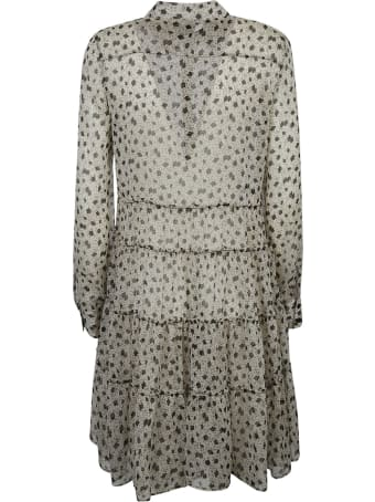 Pinko Creponne Flower Print Dress