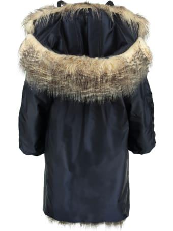 Prada Hooded Down Jacket