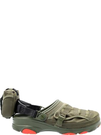 Crocs Beams X Crocs Classic All Terrain Military