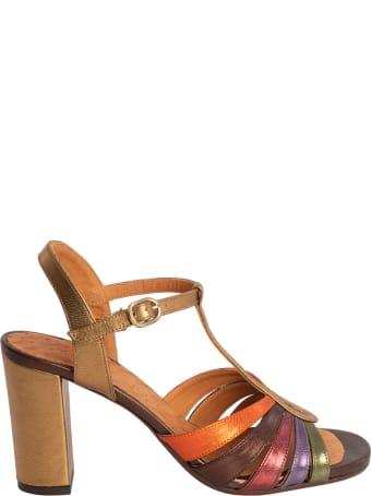 Chie Mihara Balita Crossed Leather Sandal