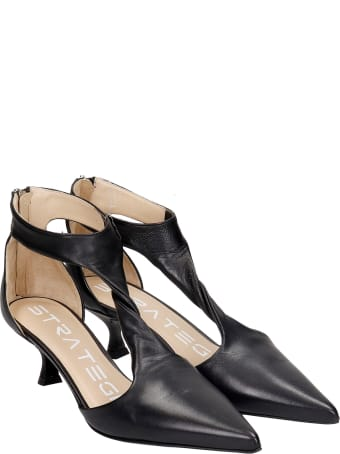 Strategia Pumps In Black Leather