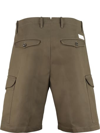 Nine in the Morning Cotton Cargo Bermuda Shorts