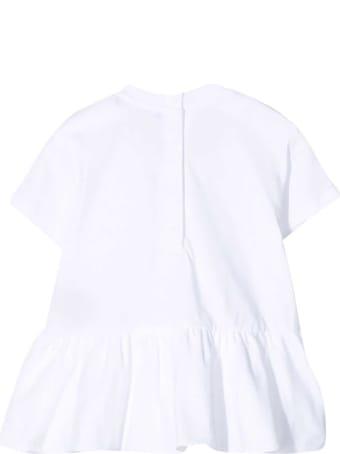 Balmain White T-shirt Dress