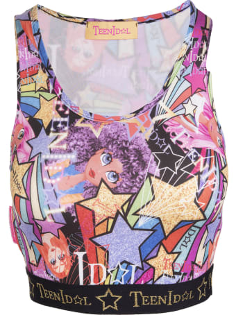 Teen Idol Multicolored Ares Top