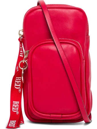 RED Valentino Red Leather Smartphone Case