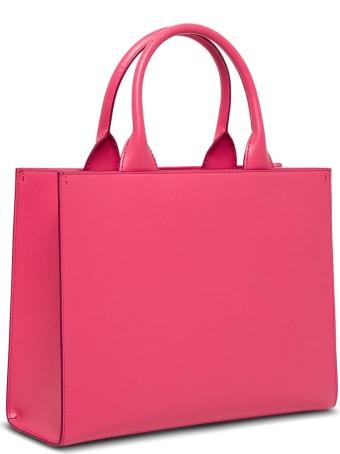 Dolce & Gabbana Beatrice Handbag In Pink Leather
