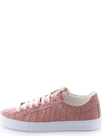 Hide&Jack Essence Pink White Sneakers