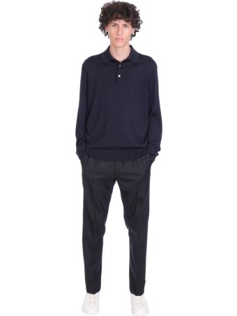 Ermenegildo Zegna Knitwear In Blue Cashmere