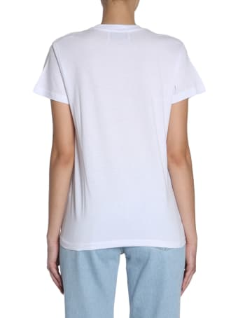 Forte Couture Round Collar T-shirt