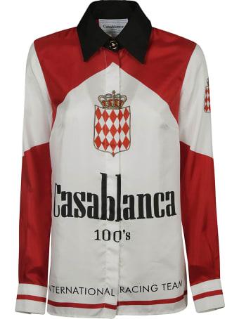 Casablanca Logo Printed Shirt