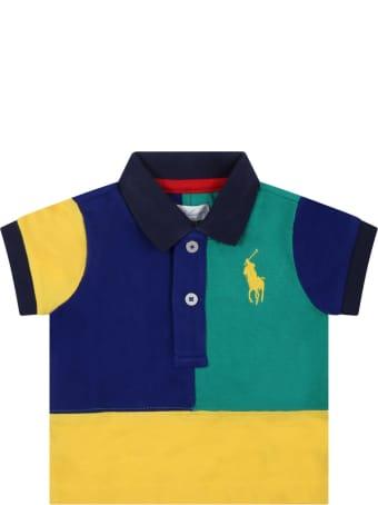 Ralph Lauren Multicolor Set For Baby Kids