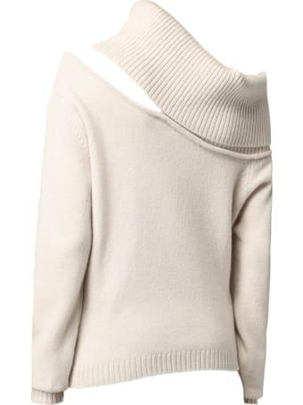 Federica Tosi Beige Wool-cashmere Blend Jumper