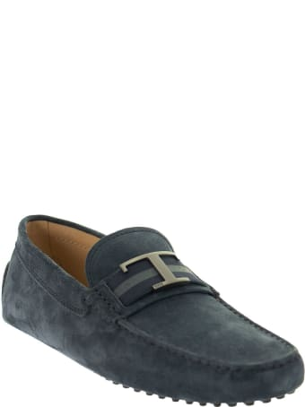 Tod's Gommino Timeless Moccasin In Suede