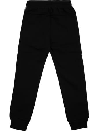 Givenchy Black Cotton Blend Joggers