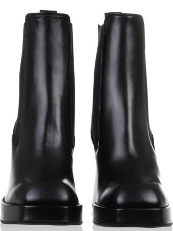 Luca Valentini Black Boots