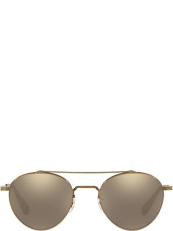 Oliver Peoples Oliver Peoples Ov1223st Antique Gold Sunglasses