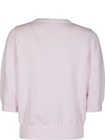 Malo Pink Cotton Cardigan