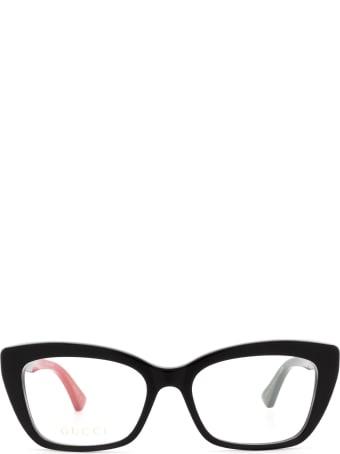 Gucci Gucci Gg0165o Black Glasses