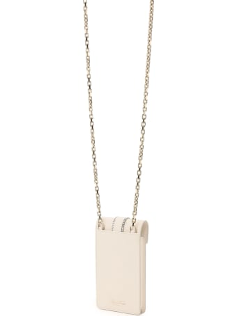 Roger Vivier Miss Vivier Crystal Buckle Phone Bag