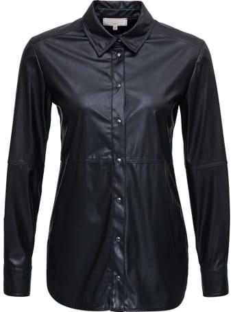 Antonelli Cyclops Black Leatheret Shirt