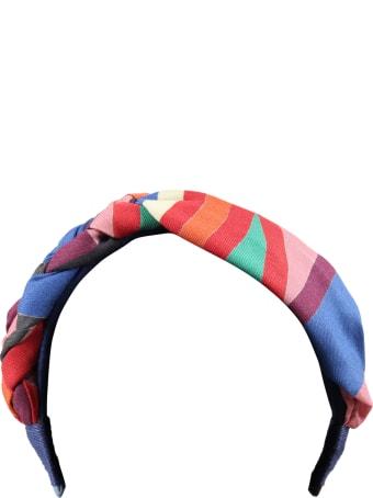 Tia Cibani Multicolor Headband For Girl