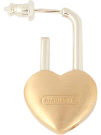 AMBUSH Small Padlock Earrings