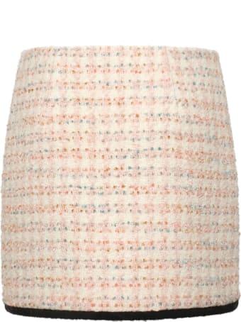 Chiara Ferragni Tweed Skirt