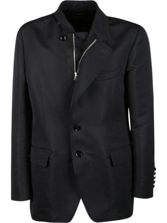Tom Ford Button-zip Blazer