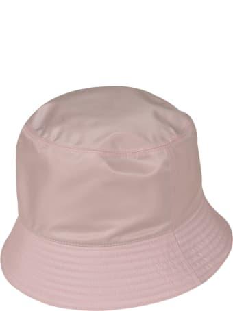 Prada Logo Plaque Bucket Hat