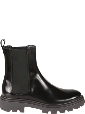 Tod's Elastic Sided Plain Boots