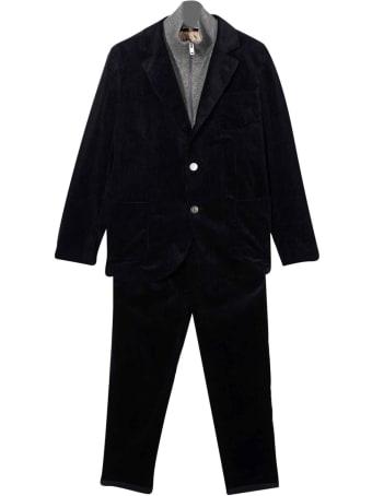 Brunello Cucinelli Blue Suit