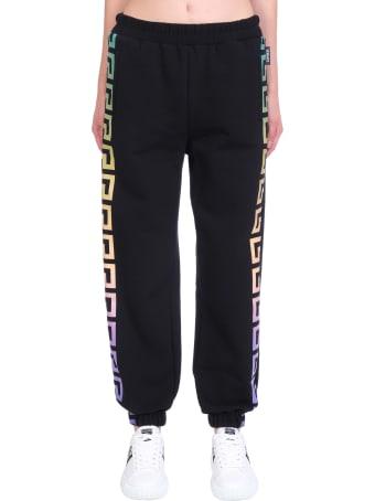 Versace Pants In Black Cotton