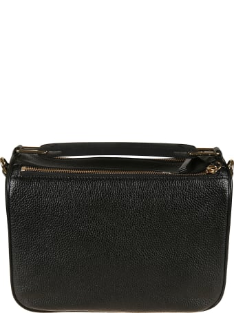 Marc Jacobs Top Zip Logo Printed Shoulder Bag
