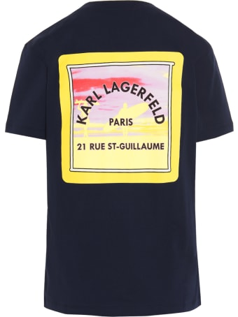Karl Lagerfeld 'surf' T-shirt