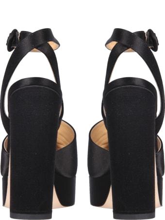 Giannico Daphne Sandals With Platform